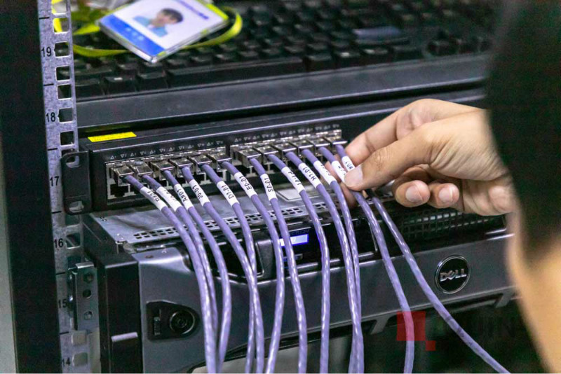 线缆标签管理机房